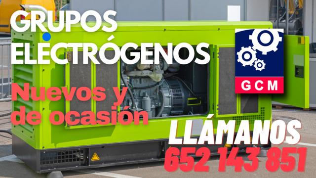 GRUPOS ELECTRÓGENOS DE OCASIÓN - foto 1