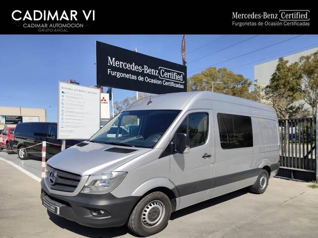 Mil Anuncios Com Mercedes Sprinter Mixta Venta De Furgonetas De