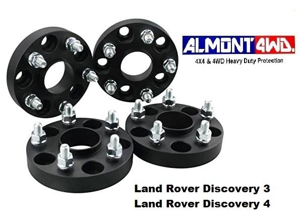 Separadores De Rueda Para Defender Discovery 1 Conjunto de cuatro Aluminio 30 mm TF301