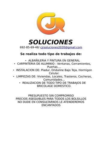 CJR SOLUCIONES - foto 1