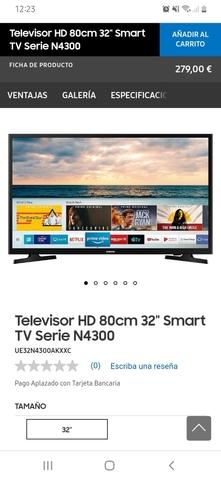 VENDO SMART TV SAMSUNG 32 - foto 2