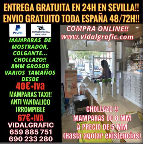 MAMPARA METACRILATO DE 8 MM!! 40EUR+IVA - foto 7