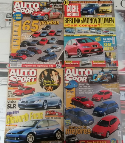 4 REVISTAS FORD FOCUS RS MK1 - foto 1