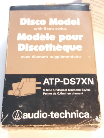 AGUJA AUDIO-TECHNICA ATP-DS7XN.  ORIGINAL - foto 7