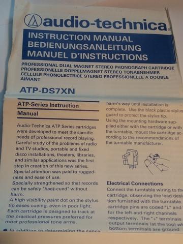 AGUJA AUDIO-TECHNICA ATP-DS7XN.  ORIGINAL - foto 9