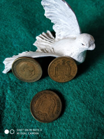 Monedas De 2.50 Pesetas De Franco