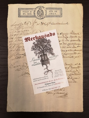 Documentos Antiguos Cabellos De Oropesa