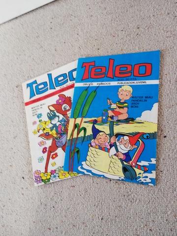 Comics Teleo De Los 80