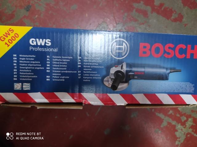 Radial Bosch Gws 1000 Profesional