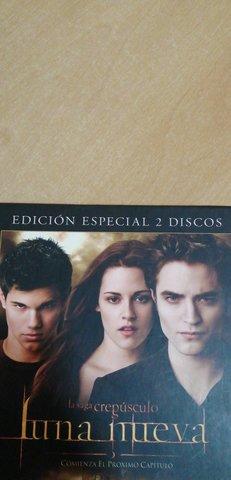 DVD,  CREPÚSCULO, LUNA NUEVA, EDIC. ESPECIAL - foto 3