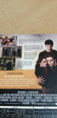 DVD,  CREPÚSCULO, LUNA NUEVA, EDIC. ESPECIAL - foto 5