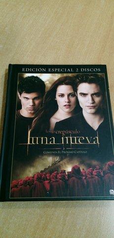 DVD,  CREPÚSCULO, LUNA NUEVA, EDIC. ESPECIAL - foto 1