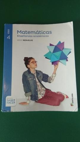 Mil Anuncios Com Matemáticas Académicas 4º Eso