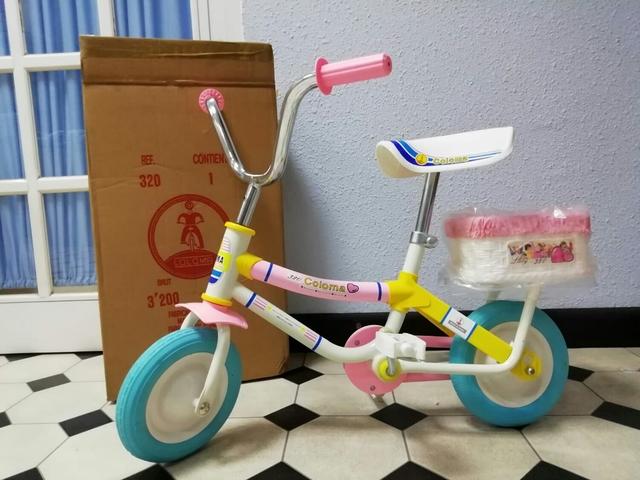 Bicicleta Niña Coloma Años 70-80-Almacén