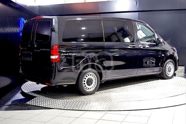 negro Alfombras tapices goma mercedes vito i 1995-2003-parte frontal 1 unidades