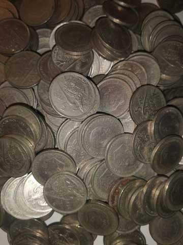 300 Monedas De 5 Pesetas De 1957