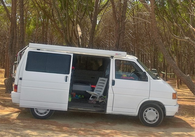 "VW Transporter t3 bus recuadro /""amortiguador maletero"