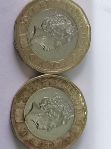 Moneda One Pound