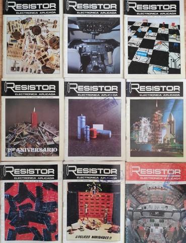 6 REVISTAS ANTIGUAS ELECTRÓNICA RESISTOR - foto 1