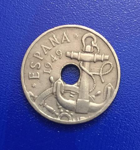 50 Céntimos De 1949.