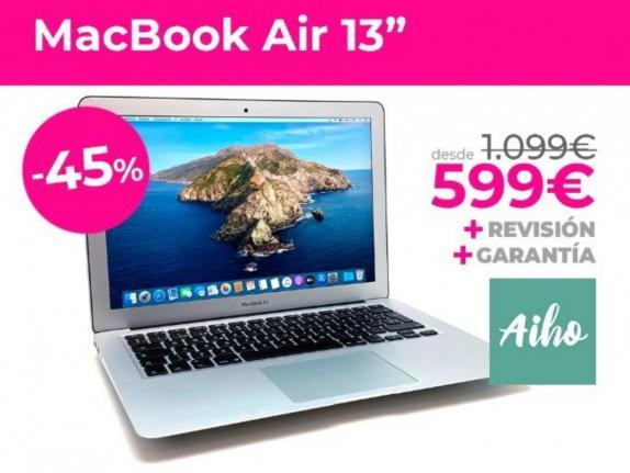 "MACBOOK AIR 13"" I5 1. 6GHZ SSD 128GB (201 - foto 1"