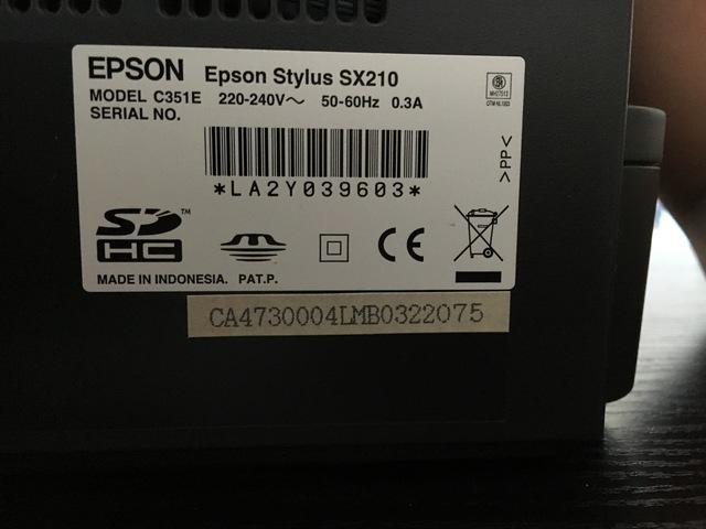IMPRESORA EPSON STYLUS SX210 - foto 6