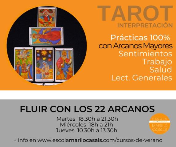 CURSO VERANO FLUIR CON LOS 22 ARCANOS - foto 1