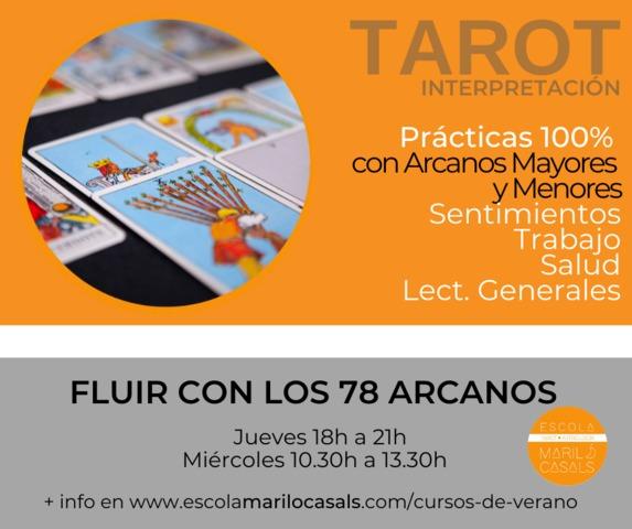 CURRSO VERANO FLUIR CON LOS 78 ARCANOS - foto 1