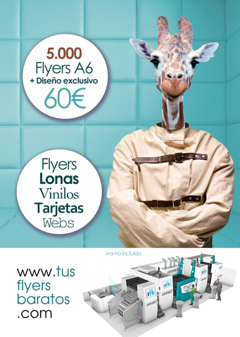IMPRENTA ONLINE FLYERS ECONÓMICOS - foto 1