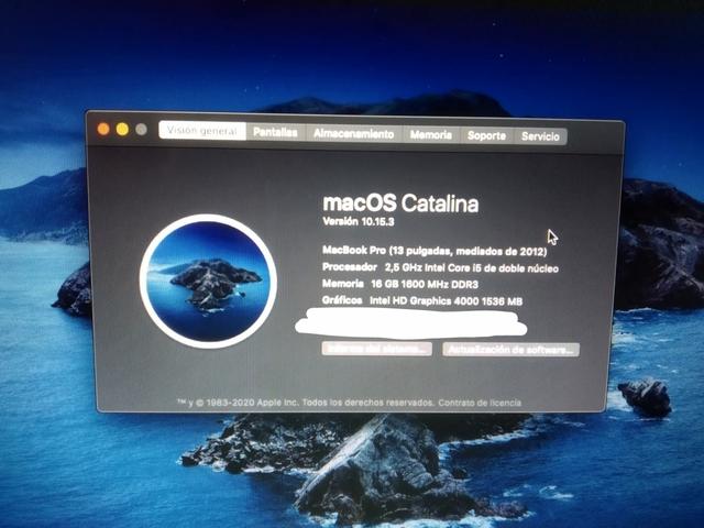 MACBOOK PRO 13\'\',  16GB RAM,  500SSD,  I5 - foto 4