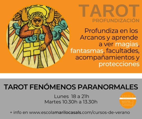 CURSO VERANO TAROT FENÓMENOS PARANORMALE - foto 1