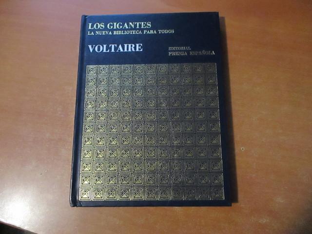 VOLTAIRE EDITORIAL PRENSA ESPAÑOLA 1971 - foto 1