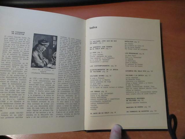 VOLTAIRE EDITORIAL PRENSA ESPAÑOLA 1971 - foto 9