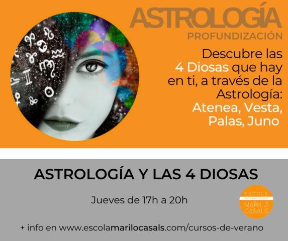 CURSO VERANO ASTROLOGÍA Y LAS 4 DIOSAS - foto 1