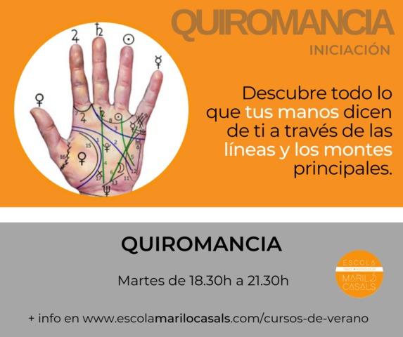 CURSO VERANO QUIROMANCIA - foto 1