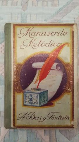 IMPECABLE MANUSCRITO METÓDICO DE 1894 - foto 2
