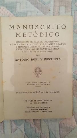 IMPECABLE MANUSCRITO METÓDICO DE 1894 - foto 4