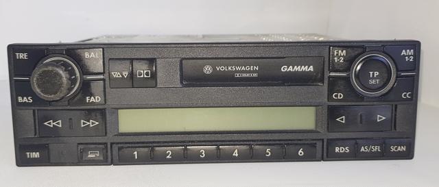 Genuine VW GAMMA Radio Cassette Estéreo unidad de cabeza Código