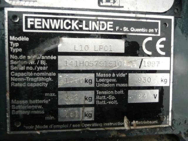 FENWICK L10-LP01 APILADOR - foto 6