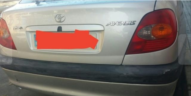 Original Toyota Avensis Tourer Baca barras de techo