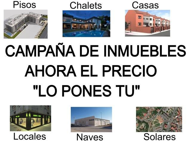 CAMPAÑA PON EL PRECIO.  INMUEBLES DE BANCO - foto 1