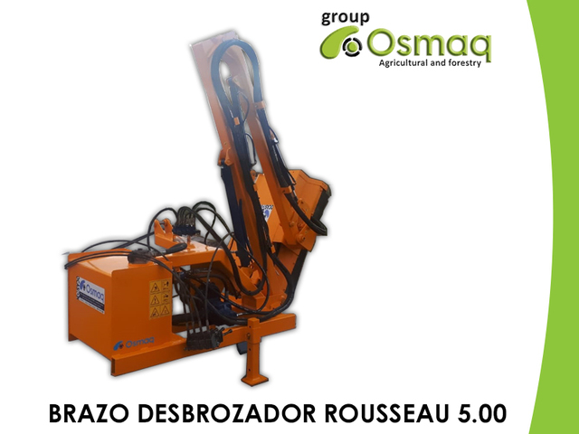 BRAZO DESBROZADOR HIDRÁULICO ROUSSEAU - foto 1