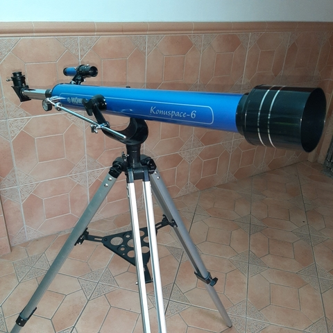 KIT COMPLETO TELESCOPIO ASTRONÓMICO PROFESIONAL 76x700