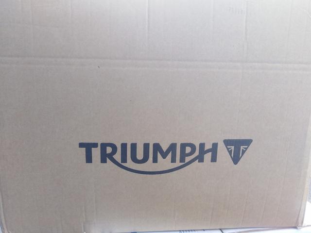 TRIUMPH STREET TWIN ALFORJAS ORIGINALES - foto 4