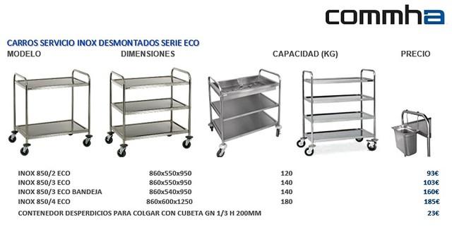CARROS SERVICIO CAMARERA,  NUEVOS - foto 4