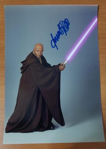 Autografo Personaje Star Wars