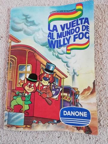 Album De Cromos De Willy Fog De Los 80