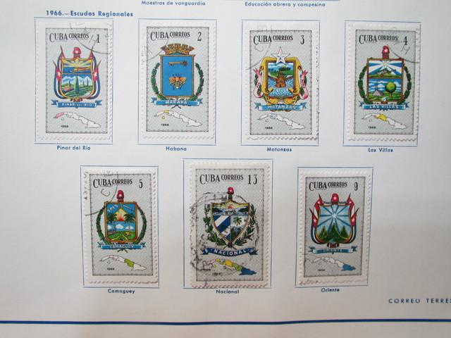 Cuba 1966 Escudos Regionales