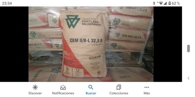 Sacos Cemento Son 50 Sacos X 150 Euros