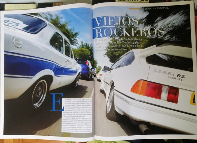 3 REVISTAS  FORD RS,  FOCUS RS,  SIERRA RS - foto 1